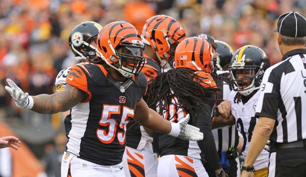 Bengals' Vontaze Burfict suspended by National Football League for hit on Steelers' Antonio Brown