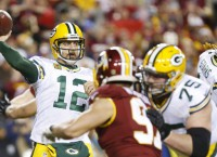 Rodgers says knee 'feels great' after surgery