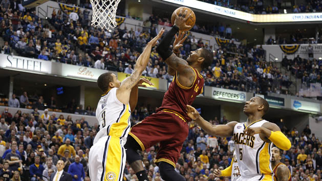 Irving leads surging Cavs to OT win over Pacers