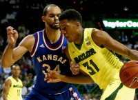 Top 25 Scores: No. 2 Kansas outlasts Baylor 66-60