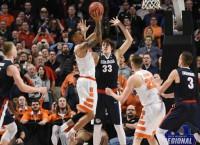 NCAA Scores: Orange rallies past Gonzaga; UNC rolls