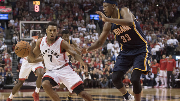 Raptors rally to down Pacers, take 3-2 series lead