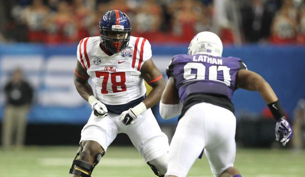 4d322bc7475 Laremy Tunsil is the top prospect in the draft according to our pals at  NFLDraftScout.