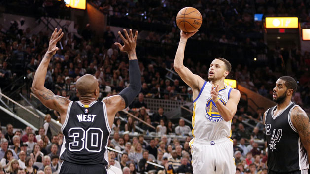 Curry resumes shooting, looking toward Game 3