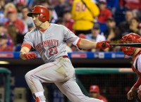 Duvall breakout giving Reds much-needed boost