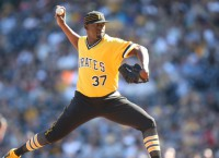Pirates put RHP Caminero on DL after wild outing