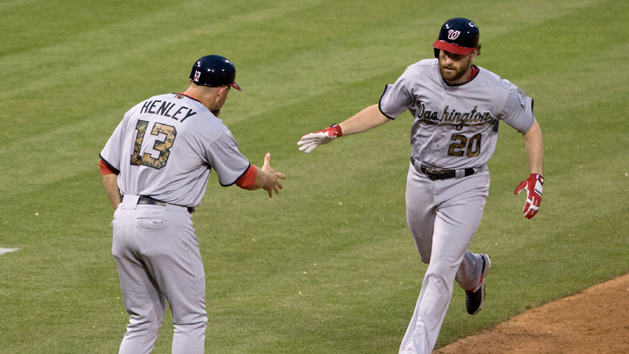 Murphy leads Nationals past Phillies