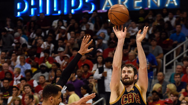 Cavs sweep away Hawks with 3-point shot yet again