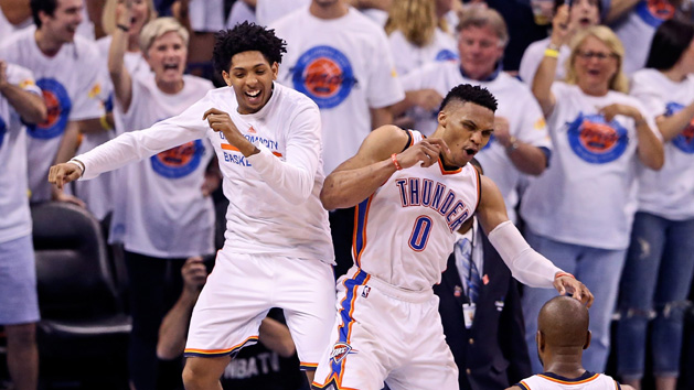 Thunder one win from Finals after Game 4 rout