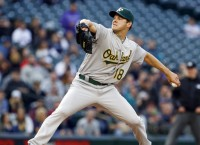 Hill silences Mariners bats in A's 5-0 win