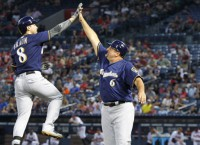 Brewers defeat Braves to sweep series