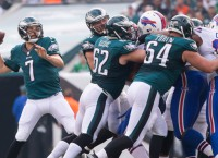 Eagles' Bradford ends holdout, attends workout