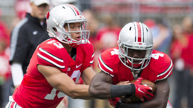 Report: Backup Ohio State QB Collier tears ACL