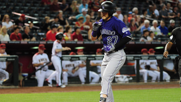Rockies rookie Story making adjustments