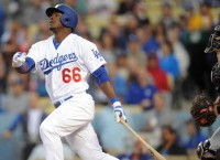Dodgers RF Puig remains in a slump