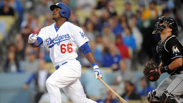 Dodgers RF Puig remains in a slump