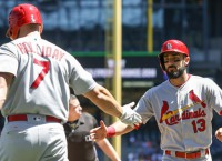 Cards bash 6 solo homers to blow past Mariners