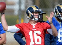Rookie Goff making strides with Rams