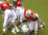 Miami LB Young suspended indefinitely