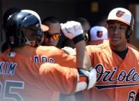 Davis' grand slam helps Orioles sweep Rays