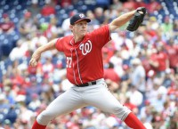 MLB Notebook: Nationals place Strasburg on DL