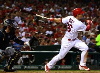 Cardinals complete sweep of Padres
