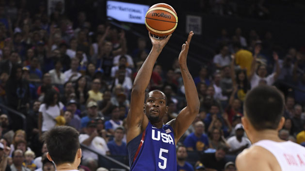 Team USA routs China by 50