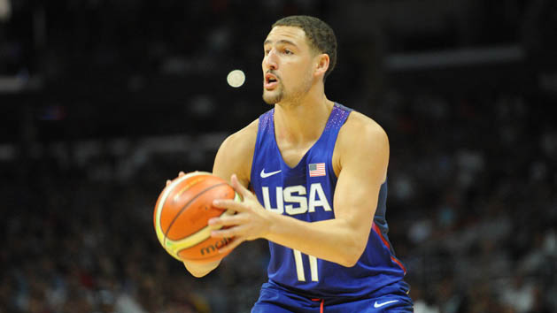 Durant, Thompson lead Team USA to rout of China