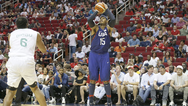 Anthony leads Team USA rout of Nigeria
