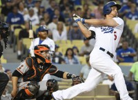 Dodgers increase NL West lead with win over Giants