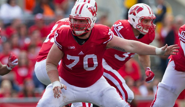 Wisconsin OL Dan Voltz forced to quit football