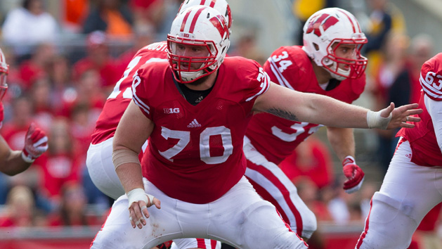 Badgers' Voltz retiring from football due to injury