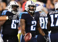 Titans' ground game shines in preseason opener