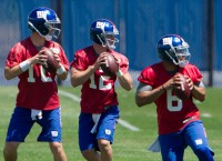Eli hoping for more work in Giants 2nd game