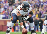 Bears C Grasu out for season with torn ACL