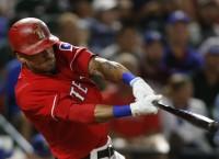 Desmond, Lucroy combine for 6 RBIs in Rangers win