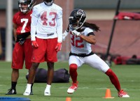 Falcons focused on improving play in red zone
