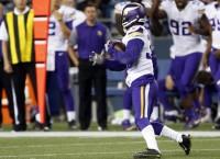 Vikings edge Seahawks on late interception TD