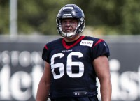Texans starting center Martin likely out for year