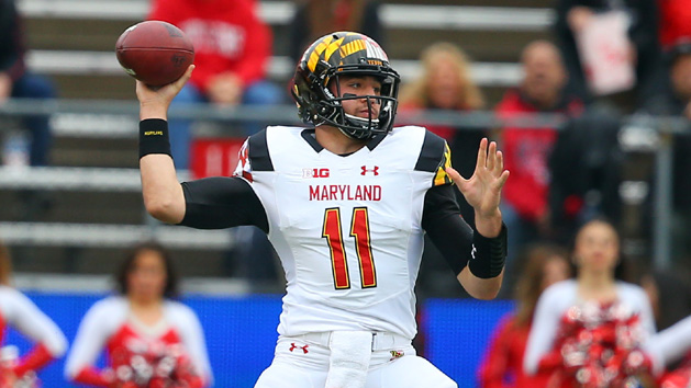 Maryland names Hills starting QB