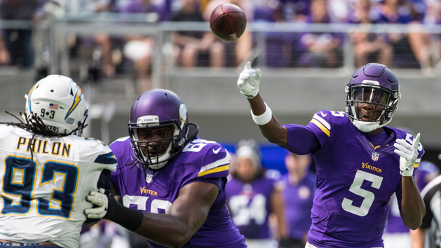 With Bridgewater out, Vikings' hopes rest with Hill