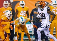 Green unstoppable as Bengals shred Dolphins