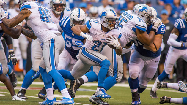 NFL Notebook: Lions' Abdullah likely out for season