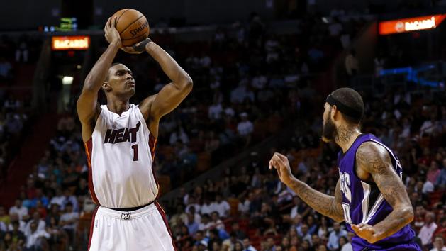Heat's Bosh: 'I'm ready to play'