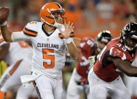 Battered Browns may be down to No. 3 QB already