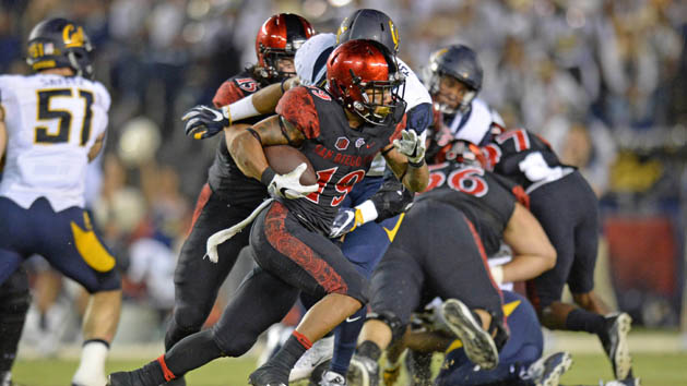 Pumphrey pushes Faulk from SDSU record books