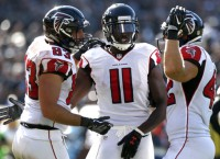 Falcons' 3 tight-end formation works against Raiders