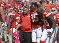 Chiefs RB Charles doubtful for Texans