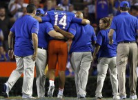 No. 23 Florida rolls; QB Del Rio injured