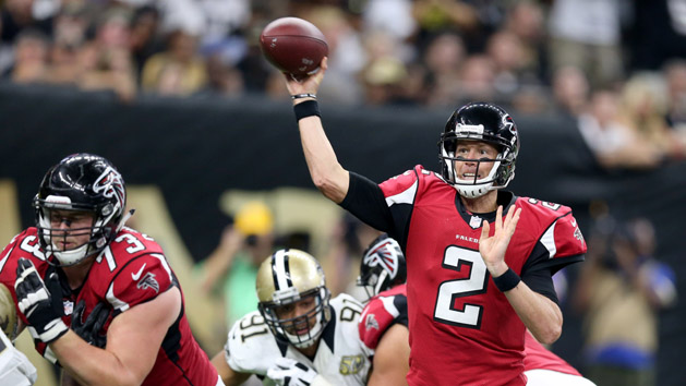 Falcons send Saints to 0-3 with 45-32 victory